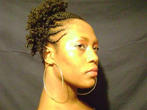 side flat twist hairstyle flat twists hairstyle updo side thirstyroots