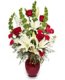 Classical christmas floral arrangement christmas flower shop
