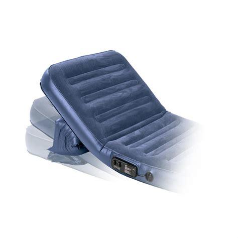 wenzel insta bed insta flex twin air bed blue