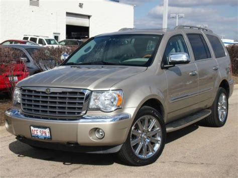 auto air conditioning service 2008 chrysler aspen transmission control buy used 2008 chrysler aspen limited sport utility 4 door 5 7l in north aurora illinois united