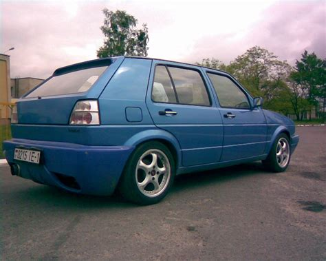 volkswagen hatchback 1990 3dtuning of volkswagen golf 2 gti 3 door hatchback 1990