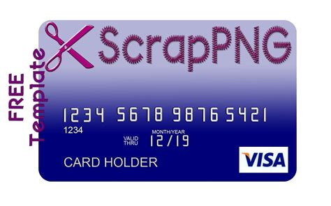 pretend credit card template credit card template psd it s free
