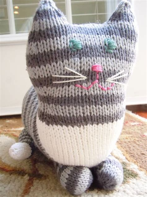 knitting pattern cat the parlor cat pattern knitting patterns and crochet