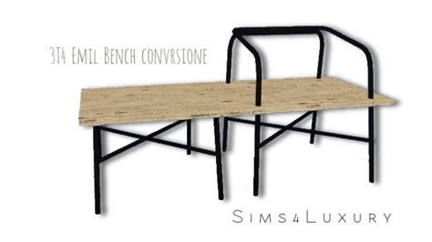 bench conversion 3t4 emil bench conversion at sims4 luxury 187 sims 4 updates