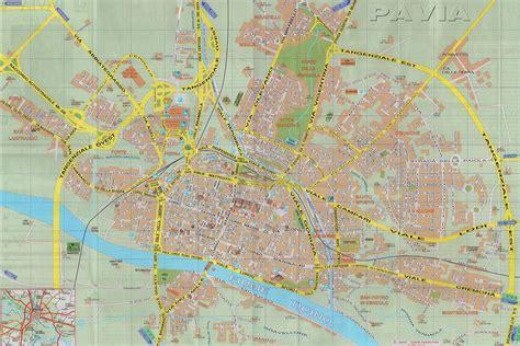 piantina di pavia dipartimento di chirurgia mappe