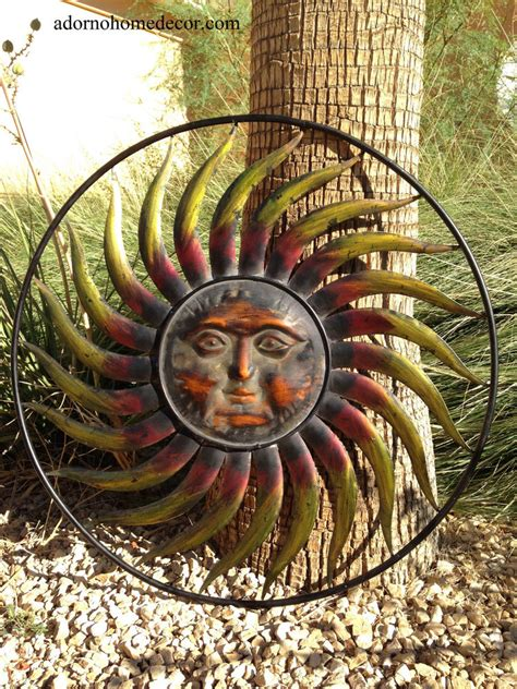 outdoor metal wall decor and sculptures large metal sun wall decor garden indoor outdoor