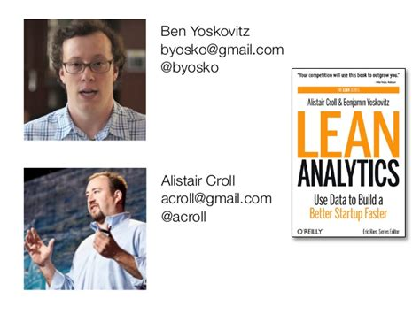 Mba Analytics Programs Montreal by Lean Analytics Overview From Growtalk Montreal