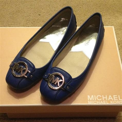 Mk Flatshoes Mg6191fs 43 michael kors shoes flats blue michael kors from