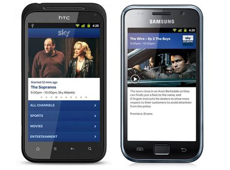 sky app android sky go android app receiving android 4 0 support and on demand tv