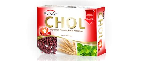 Nutrafor Chol Isi 60 Caps by Jual Nutrafor Chol Isi 60 Kapsul Prosehat