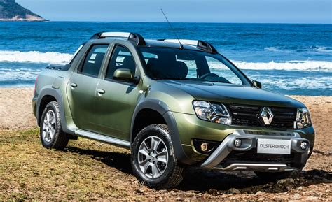 renault duster oroch renault duster oroch pick up truck launched in brazil