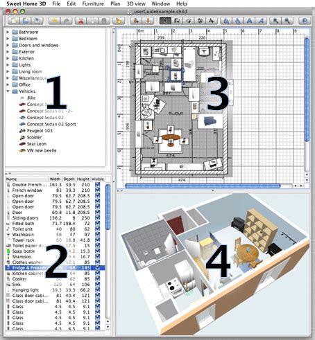 Plan Maison Carrée 4378 by El De Francis Jeny Sweet Home 3d Pack