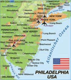 philadelphia map usa
