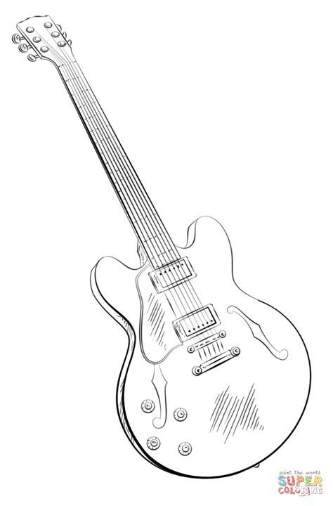 doodle do guitarra coloriage guitare 233 lectrique coloriages 224 imprimer