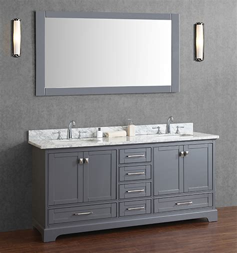 72 inch double sink bathroom vanity anele 72 inch gray double sink bathroom vanity set with mirror