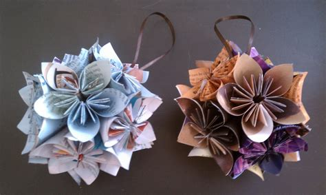 How To Make Paper Ornaments - chet pourciau design origami ornaments