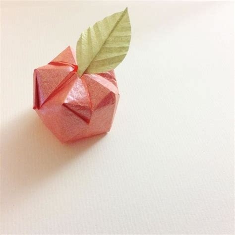 Origami Apple - best 25 origami apple ideas on origami