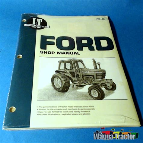 Fo42 Workshop Manual Ford 5000 6600 6610 7700 7710 Tractor