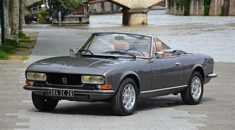 peugeot 504 coupe pininfarina rare beauty five extraordinary pininfarina classics