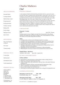 Resume Sample For Chef chef resume sample examples sous chef jobs free template chefs