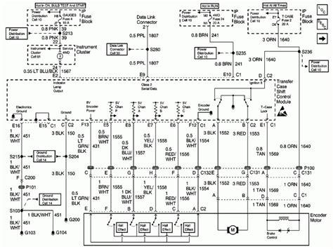 2000 Chevy Silverado Transfer Case Wiring Diagram Wiring