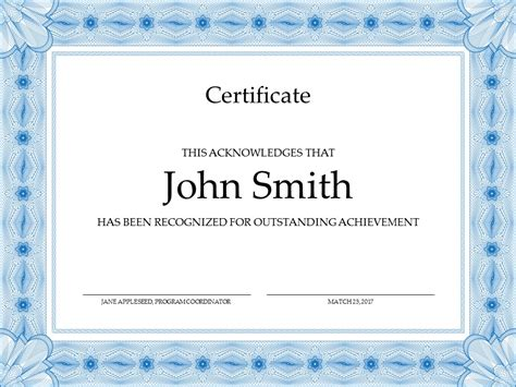 certificate design in ppt certificate powerpoint template slidesbase
