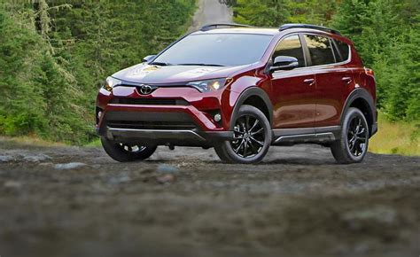 Toyota Suv Lineup 2017 Chicago Auto Show A More Rugged Rav4 Among Toyota S