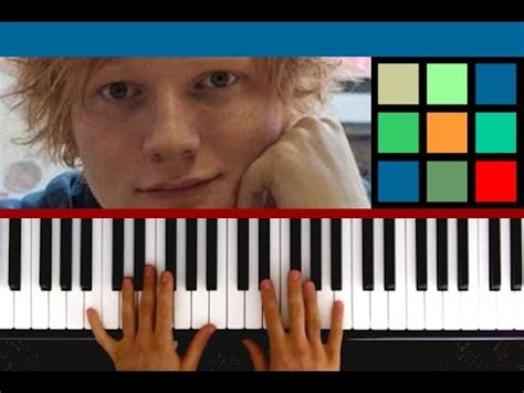 youtube tutorial thinking out loud how to play quot thinking out loud quot piano tutorial ed sheeran