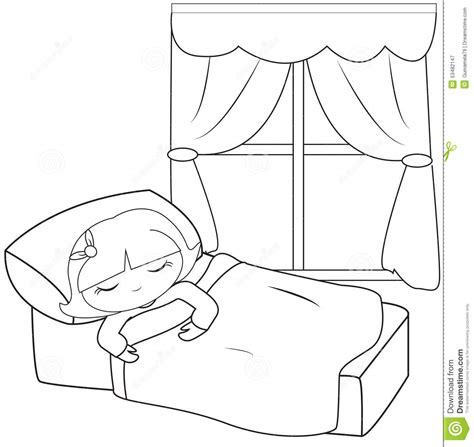 coloring page boy sleeping 93 coloring page boy sleeping an illustration of a