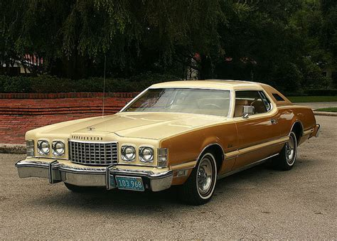 ford gold paint 1976 ford thunderbird special edition and gold