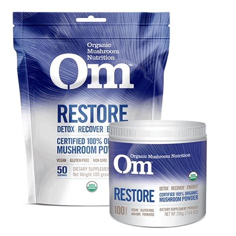 Restore Detox Recipes by Om Restore Om Organic Nutrition