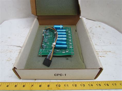 capacitor current dv dt reliance electric 0 55320 capacitor circuit board printed dv dt card 460v nib ebay
