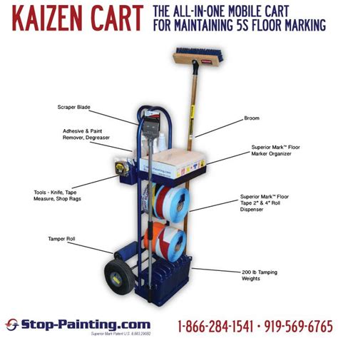 lean manufacturing lean resources 5s kaizen kaizen cart lean 5s workplace organization pinterest
