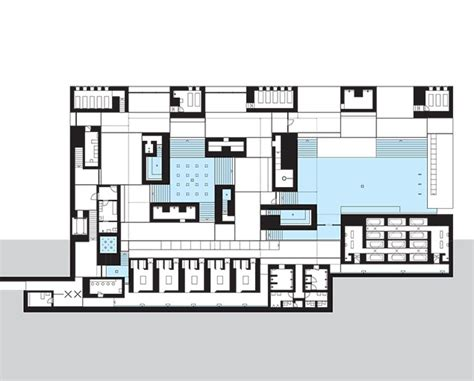therme vals floor plan thermal baths in vals switzerland by peter zumthor