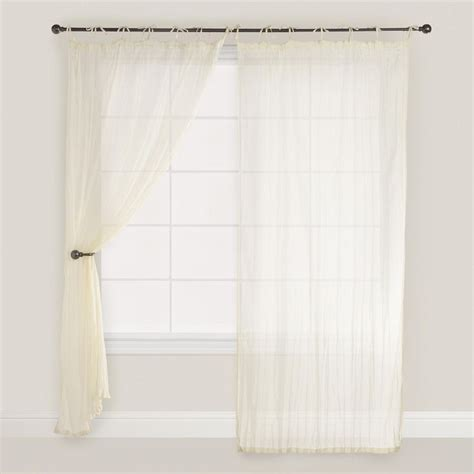 white crinkle sheer curtains 129 best images about window treatments on pinterest
