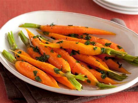 honey glazed carrots food network recipe sunny anderson