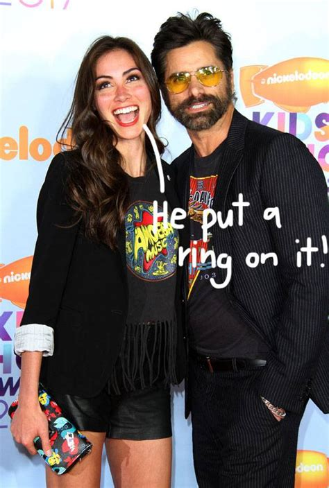 who is john stamos dating john stamos is engaged to girlfriend caitlin mchugh
