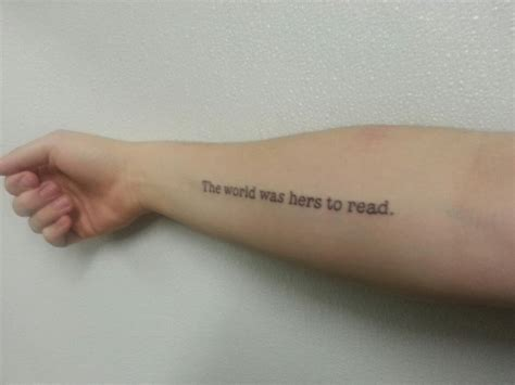 literary tattoo contrariwise literary tattoos