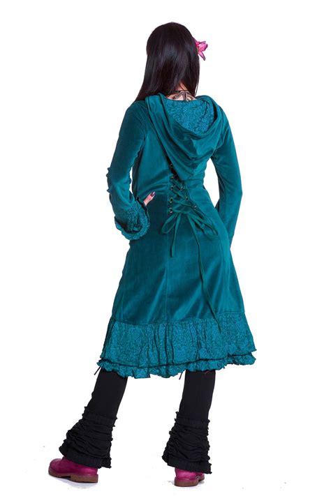 velvet boho coat steampunk corset coat gothic velvet