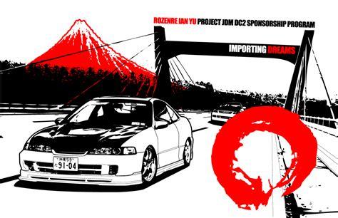 Sticker Honda Icon by Jdm Sticker Wallpaper
