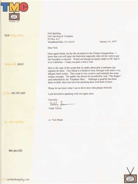 Donation Letter Turner your one stop business development marketing