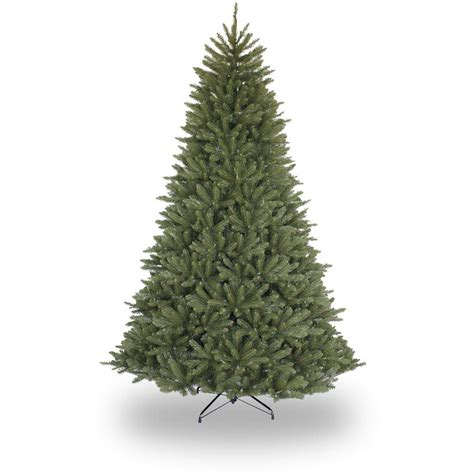 northlight 7 ft new pine medium artificial tree with pinecones unlit