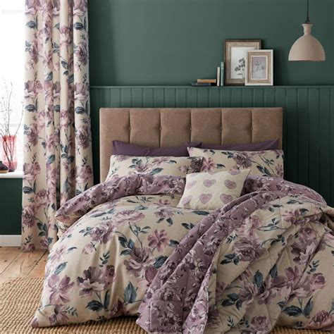 lined bedroom curtains ready made 28 images floral painted floral eyelet curtains plum purple tonys