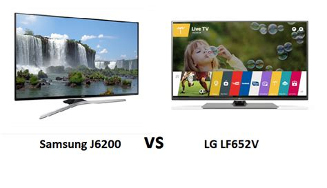 Tv Led Samsung Vs Lg samsung j6200 lg lf652v comparative led tv reviews