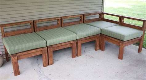 outdoor sectional couch plans woodwork diy outdoor sectional pdf plans