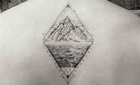double triangle tattoo meaning the meaning of a triangle
