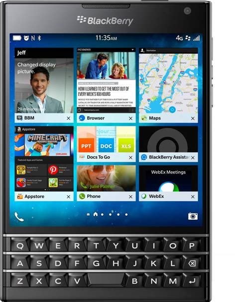Blackberry Passport Black blackberry passport black 32 gb at best price