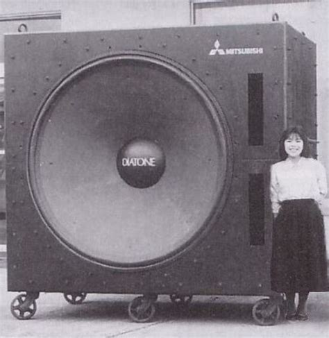 Mitsubishi Diatone Diatone Speakers In The World