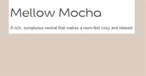 wall colour dulux mellow mocha redecorating wall colors walls and orangery