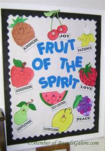 fruit bulletin board idea 171 funnycrafts fruits of the spirit poster ideas for monthly bible theme
